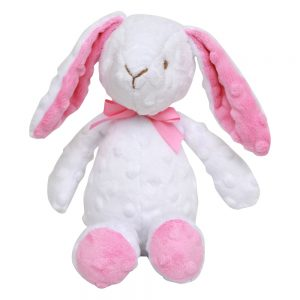 Bitbit The Rabbit floppy toy in white