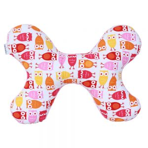 Butterfly Pillow in Pink Owl