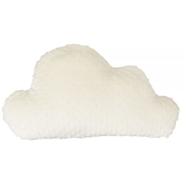 Big Cloud Pillow in Ivory minky