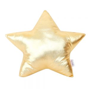 Star Pillow Gold