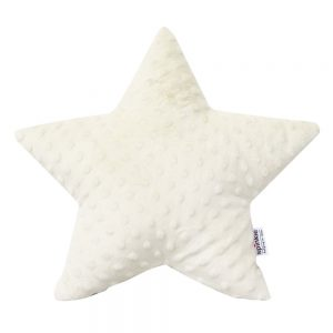 Star Pillow in Ivory