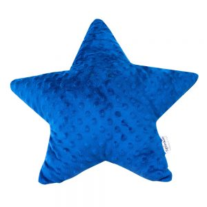 Star Pillow in Navy