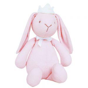 Bitbit the rabbit medium in light pink