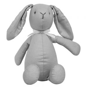 Bitbit the rabbit small in ash grey