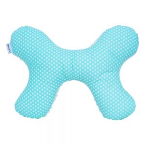 Butterfly Pillow in Sea dots