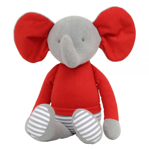 Ellie the Elephant in Red