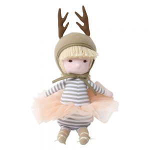 Mimi Doll in Beige Deer Costume