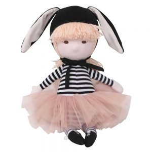 Mimi Doll in Black Bunny Costume