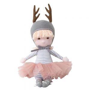 Mimi Doll in Grey Deer Costume
