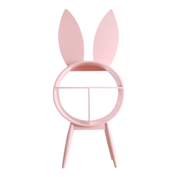 Bunny Library Pink