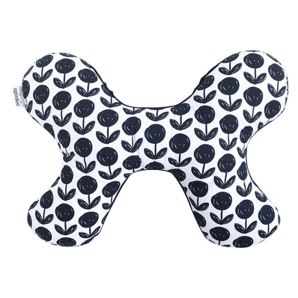 Butterfly Pillow in etern soot