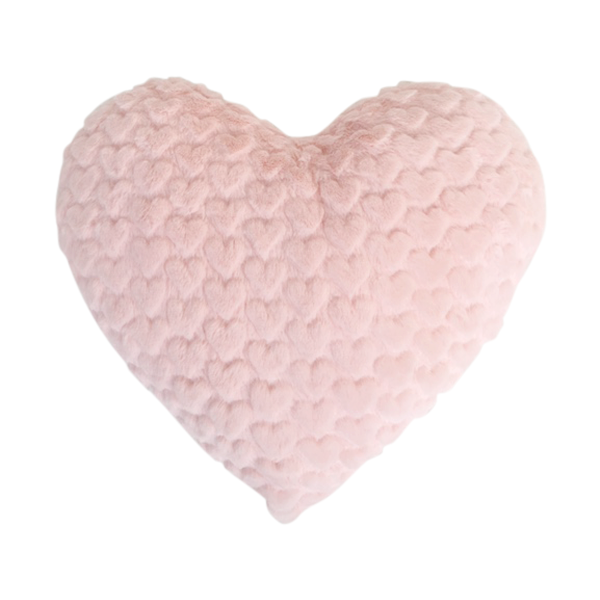 Sweetheart Pillow in Light Pink