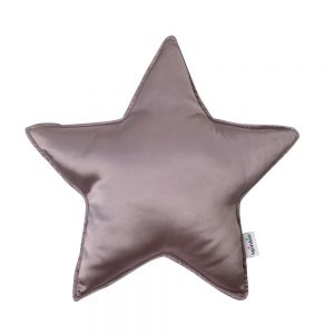 Star Pillow in Mauve