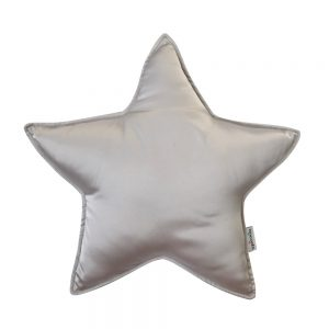 Star Pillow in Oyster