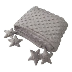 Counting Stars Blankie in GREY