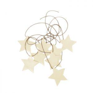 Star Garland Ivory