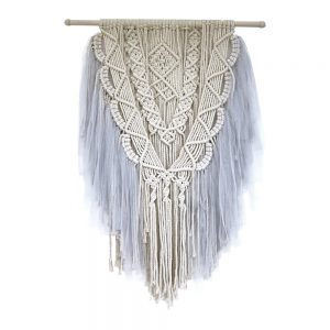 MACRAME Light Grey